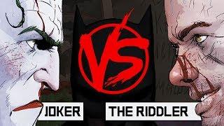 JOKER a.k.a КЛОУНА ЗАБЫЛИ VS The RIDDLER a.k.a Загадка про стулья