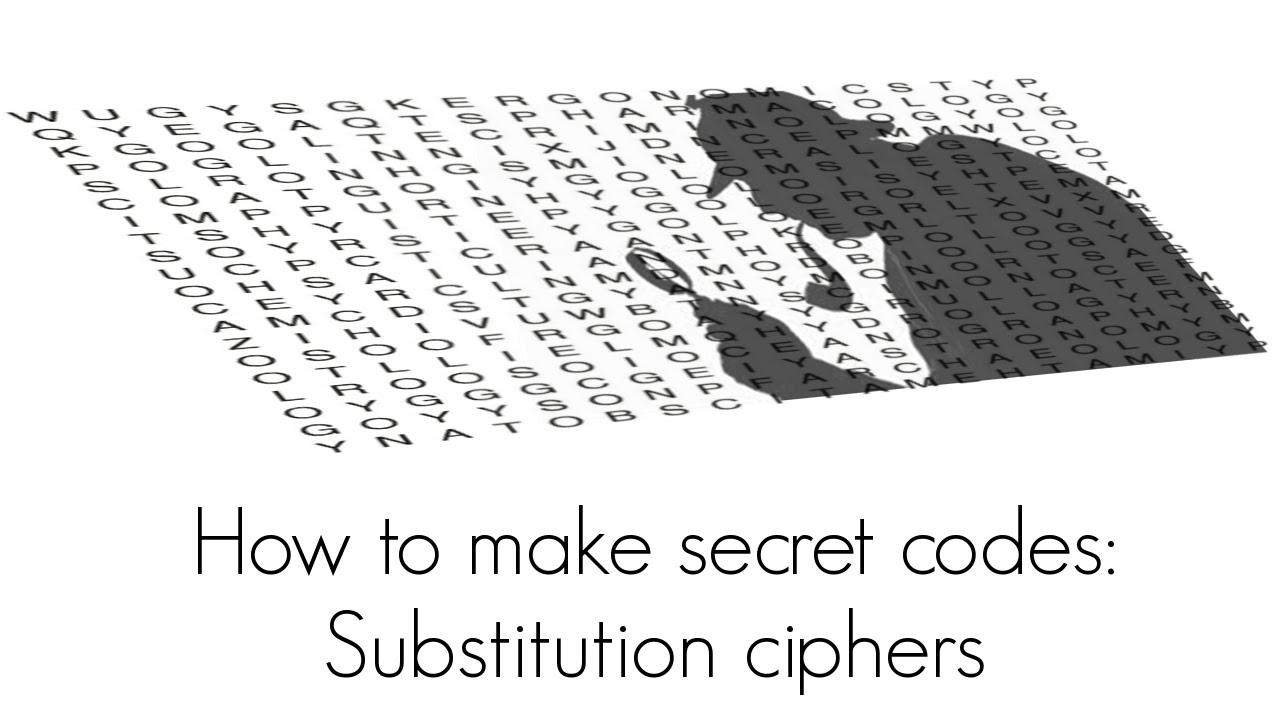 Lets Make Secret Codes