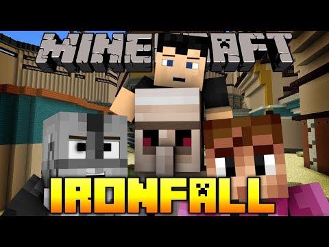 Minecraft IRONFALL MiniGame w/ Vaecon & SteelSaint (Titanfall in Minecraft)