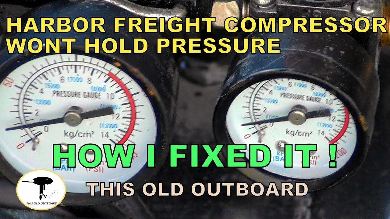 Harbor Freight - Air Compressor REED VALVE FIX