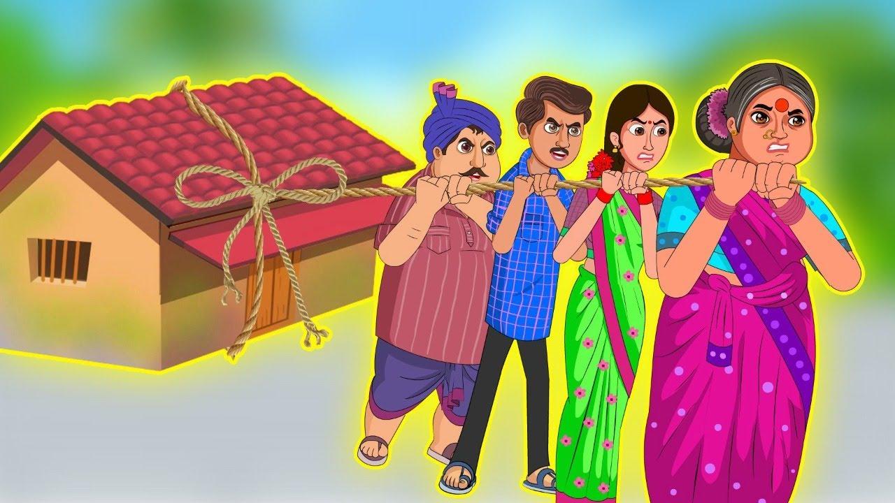 Download అత్త కోడళ్ళు ఇంటి పని పంపకం | Telugu Stories | Telugu Kathalu | Telugu comedy Videos | motal stories