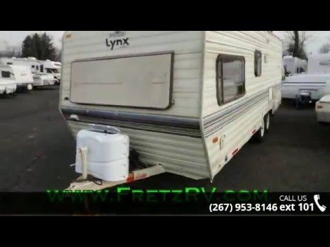 Used 1990 Fleetwood Prowler Lynx 24P For Sale Fretz RV Classified Ads Camper Trader