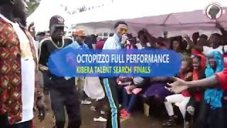 Octopizzo's Message to upcoming Artist||Full Performance at kibera Talent Search Finals