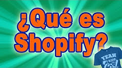 Que es Shopify | Como vender por Internet creando tu tienda online
