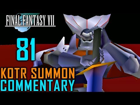 Final Fantasy VII Walkthrough Part 81 - Knights Of The Round Summon (Materia Caves) - 동영상