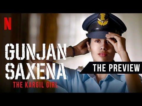 Gunjan Saxena The Kargil Girl Not A Trailer Janhvi Kapoor Pankaj A Netflix Original Film Youtube