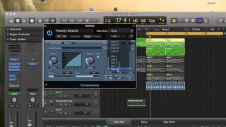 Video How to side chain to a kick with compression in Logic Pro X download MP3, 3GP, MP4, WEBM, AVI, FLV April 2018