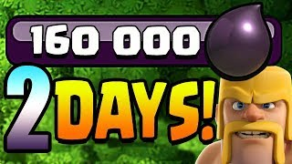160000 EASY DE in 2 Days!  Th11 Farm to Max | Clash of Clans