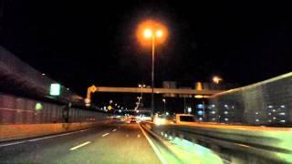TOKYO~YOKOHAMA Night Drive Time Lapse Japan 東京 ~ 横浜 首都高 タイムラプス