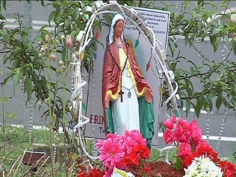 Temporary return of Virgin Mary statue