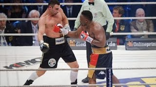 Dereck Chisora returns , Don Charles split