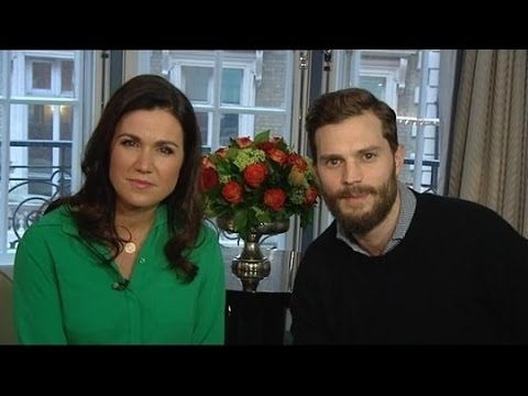Jamie Dornan - Fifty Shades interview on Good Morning Britain (13.02.15)