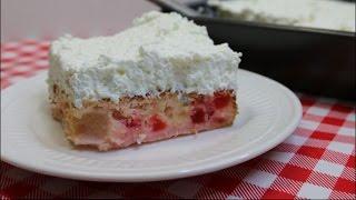 Ambrosia Cake~Mother's Day Dessert~Angel Fruit Cake~Refreshing Retro Cake Recipe~ Noreen
