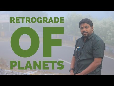 Retrograde of Planets #2 by DINDIGUL P CHINNARAJ ASTROLOGER INDIA