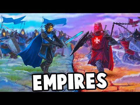 BARON vs BLITZ vs DRAEGAST! Who has the Biggest EMPIRE? (Eight Minute Empires Multiplayer Gameplay)