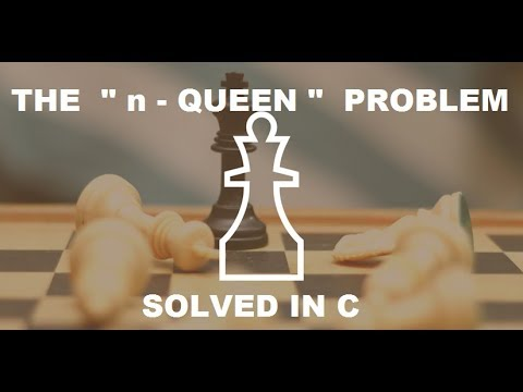 """ n queen problem "" solution || in c"