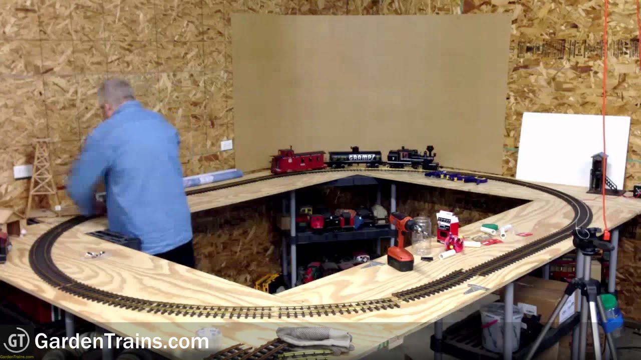 Garden Trains: #007 : Building an Indoor Large Scale ...