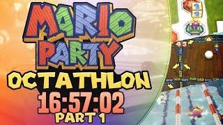 Mario Party Octathlon Speedrun in 16:57:02 part 1