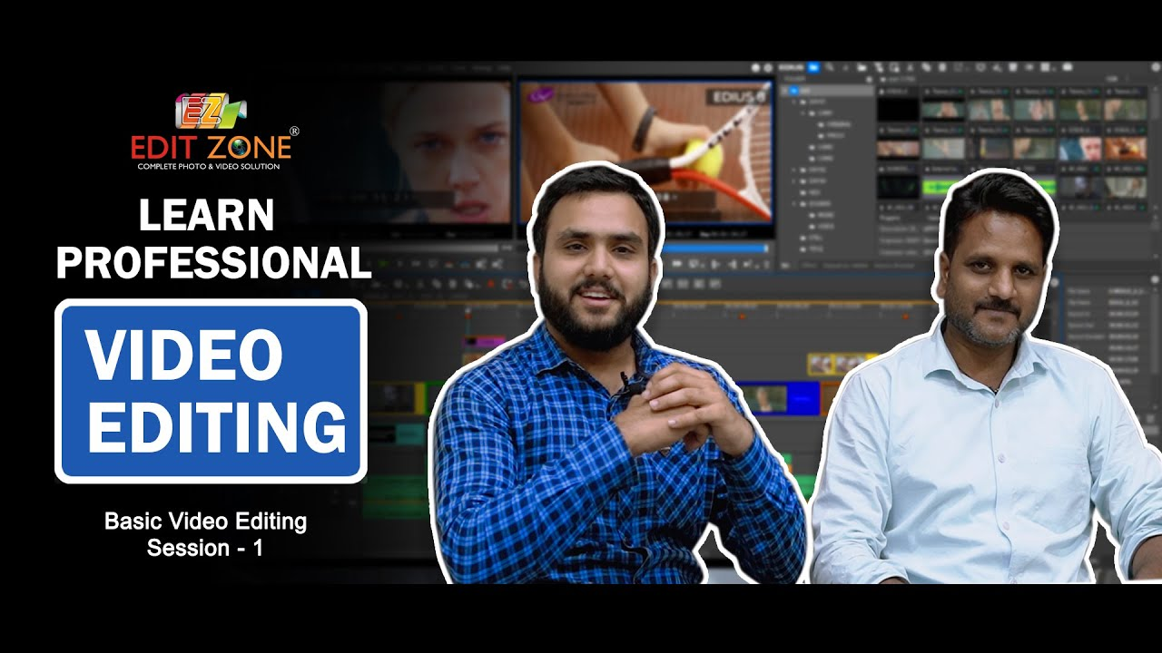 Download Learn Video Editing | Session - 1 | Basic Video Editing | Edit Zone