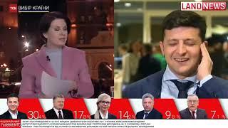Зеленский обратился к украинцам и ответил Порошенко   Выборы в Украине 2019