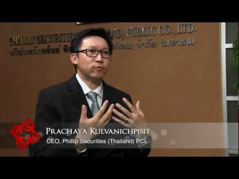 Executive Focus: Prachaya Kulvanichpisit, CEO, Phillip Securities (Thailand) PCL