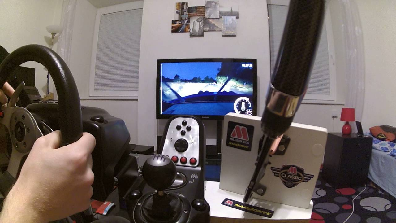 dirt rally ps4 on logitech g25 with handbrake youtube. Black Bedroom Furniture Sets. Home Design Ideas