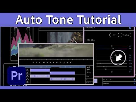 Color correction with Auto Tone in Premiere Pro (Beta)