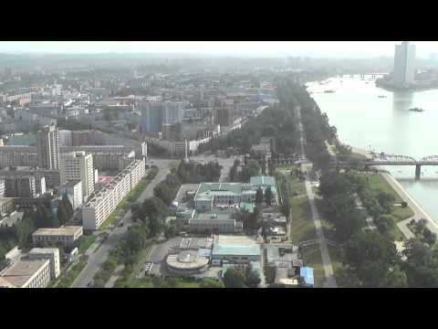 View From Juche Tower, North Korea 4   北朝鮮 最新映像  북한 최근영상