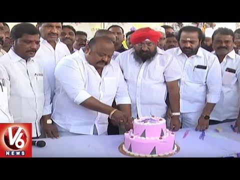 CM KCR Birthday Celebrations Across Telangana State | V6 News