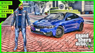 GTA 5 MOD #149 LET'S GO TO WORK (GTA 5 REAL LIFE MOD) 2017 BMW M4