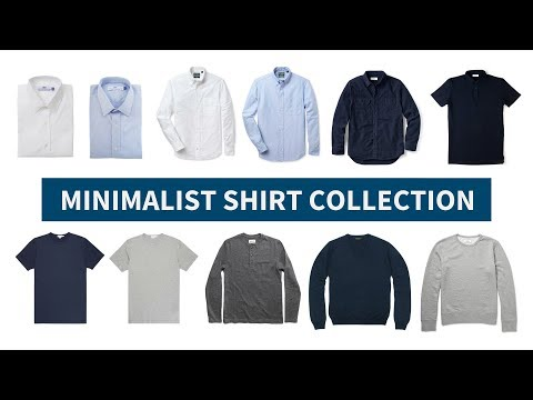 Minimalist Shirt Collection // Versatile & Interchangeable