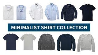 Minimalist Shirt Collection // Versatile & Interchangeable