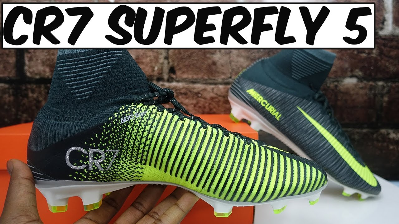 afba0adacdc ... CR7 Nike Mercurial Superfly 5 Chapter 3 Discovery Review + On-Feet -  YouTube ...