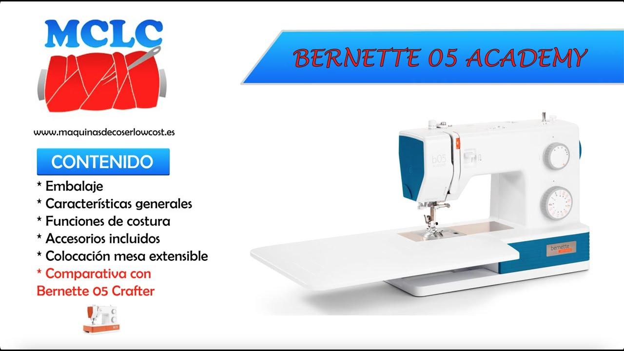 MAQUINA DE COSER BERNETTE 05 ACADEMY - UNBOXING
