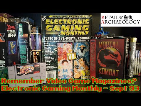 Remember Video Game Magazines? | Electronic Gaming Monthly Issue #50 from 1993! | Retail Relics