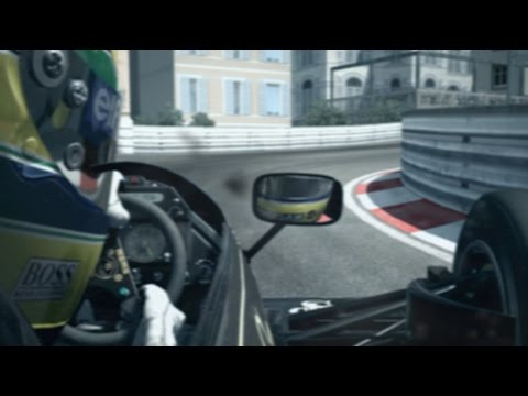 Assetto Corsa: Real Cam Effects - Senna Onboard at Monaco - Lotus 98T