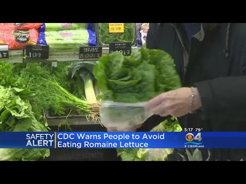 CDC Urges Consumers Not To Eat Romaine Lettuce