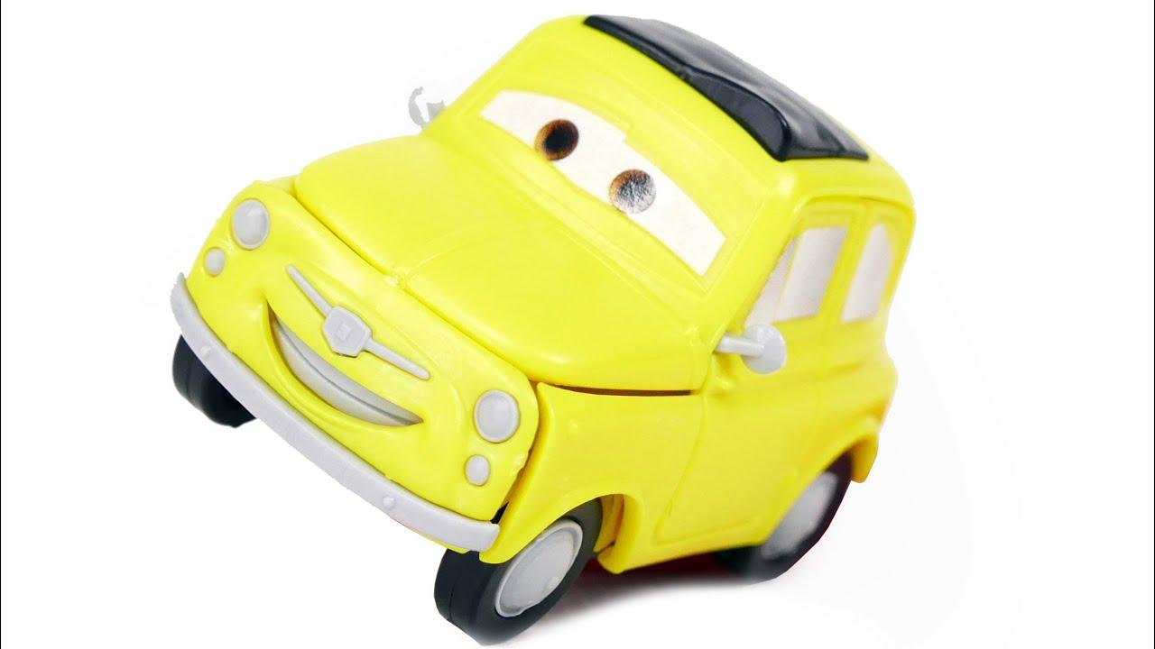 cars for kids luigi model kit zvezda car from disney pixar cartoon cars toys youtube