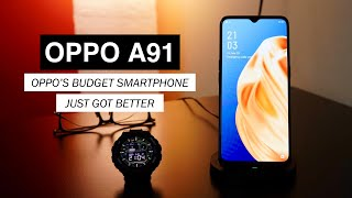 OPPO A91 Full Review: 4 Cameras & AMOLED Display for Under $250!