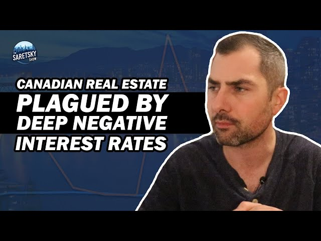 Canadian Real Estate Plagued by Deep Negative Interest Rates