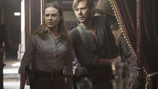 Westworld Season 1 Episode 7 Dolores & William Kissing Train Scene