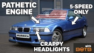 8 Ways American E36 M3 Buyers Got Screwed Over