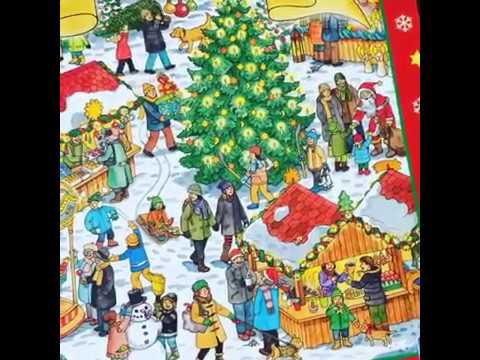 Видео-обзор Мой большой Рождественский Виммельбух