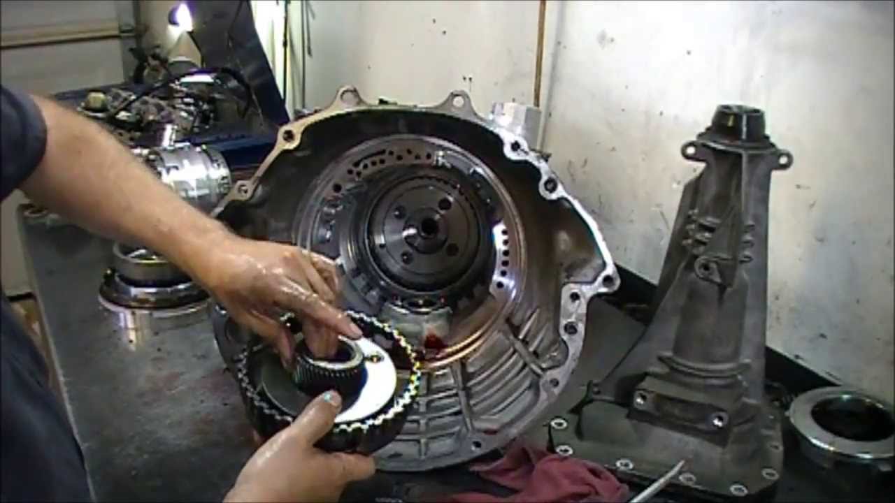 rfe transmission teardown inspection transmission