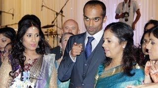 Actress Lakshmi Ramakrishnan Daughter Sharadha Wedding Reception