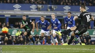 Everton 3-4 Stoke 28.12.15 All Goals/Highlights Premier League