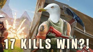 17 Kills Fortnite Solo Win?!