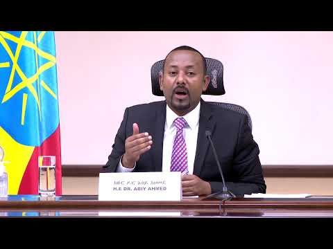 Office of the Prime Minister - Ethiopia Live Stream
