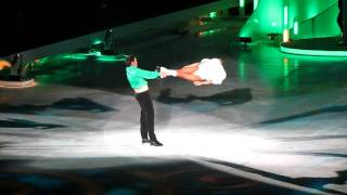 Sam Attwater and Brianne (Dancing On Ice) - Riverdance - Live at Birmingham