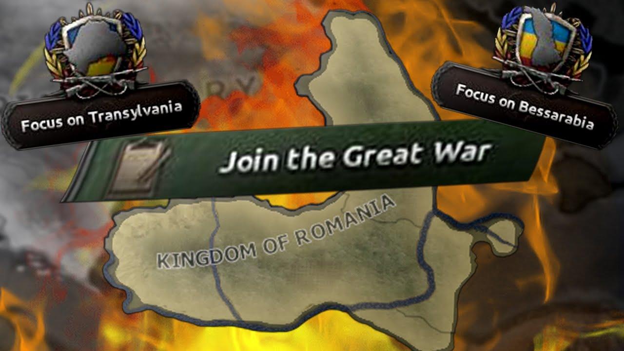 România în Primul Război Mondial (HOI4 TGW Redux)